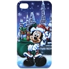 Disney iPhone 4s Case - Walt Disney World Santa Mickey Ice Castle