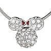 Disney Arribas Necklace - Minnie Mouse Icon - Domed
