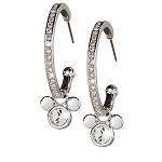 Disney Arribas Earrings - Mickey Mouse Icon Hoop