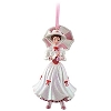 Disney Figurine Ornament - Mary Poppins Pink Parasol