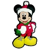 Disney Magnet - Mickey Mouse - Christmas Clothes