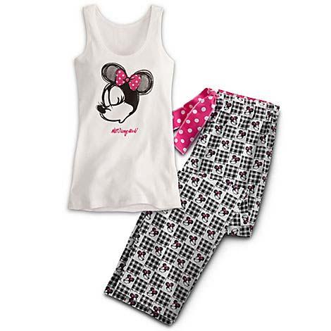 eb579737de3aa2 Add to My Lists. Disney Ladies Pajama Set - Classic Minnie Mouse ...