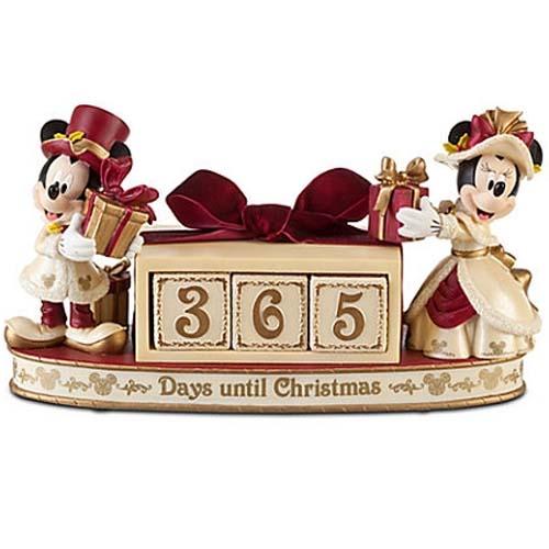 Your Wdw Store Disney Christmas Countdown Calendar Victorian Mickey Amp Minnie