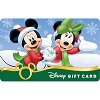 Disney Collectible Gift Card - Flurry Fun Mickey & Minnie Mouse