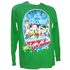 Disney Adult Shirt - 2012 Mickey's Very Merry Christmas Party - Green