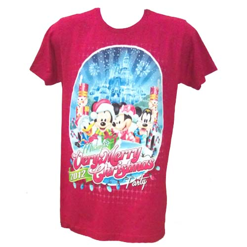 Mickeys Very Merry Christmas Party Merchandise.Disney Adult Shirt 2012 Mickey S Very Merry Christmas Party