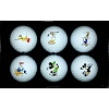 Disney Golf Ball - Disney Golf Ball Set of 6