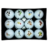 Disney Golf Ball - Disney Golf Ball Set of 12