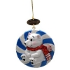 SeaWorld Christmas Ornament - Peppermint Candy Polar Bear