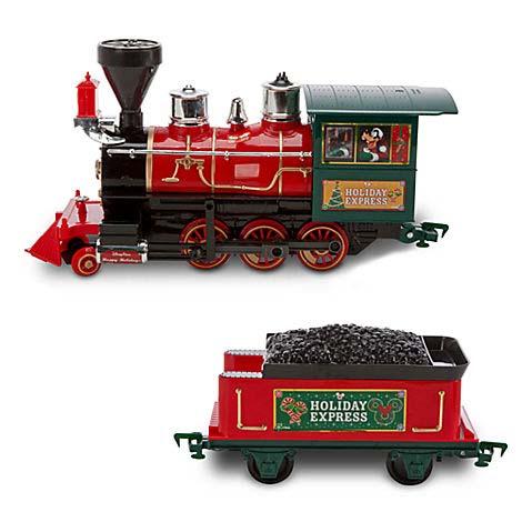 disney figurine set christmas train set the holiday express