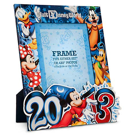 Your WDW Store - Disney Picture Frame - 2013 - 4 x 6 or 5 x 7 Mickey ...