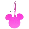 Disney Luggage Bag Tag - Mickey Icon - Hot Pink