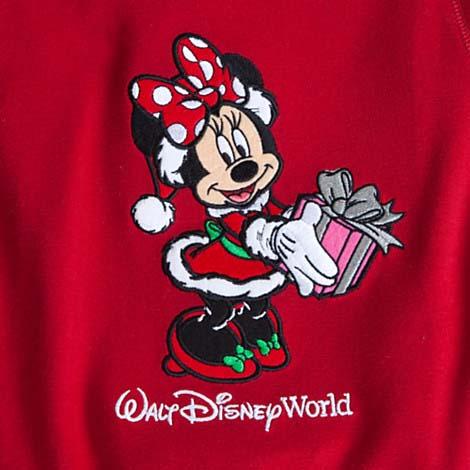 disney child girls pajamas christmas minnie mouse