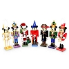 Disney Figurine - Nutcracker Mickey - Mickey Nutcracker - Set of Seven (7)