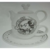 Disney Tea Pot - Gourmet Mickey - Tea For One - Black and White