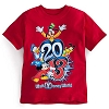 Disney Child Shirt - 2013 Mickey Mouse and Friends Red Tee