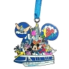 Disney Disc Ornament - Storybook Logo - Metal