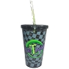 Disney Tumbler with Straw - Alice In Wonderland - Mad T Party