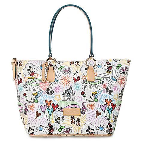 Disney Dooney Amp Bourke Bag Sketch Large Shopper