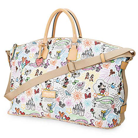 Disney Dooney Bourke Bag Sketch Weekender Luggage