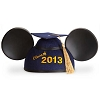 Disney Hat - Ears Hat - Graduation Class of 2013