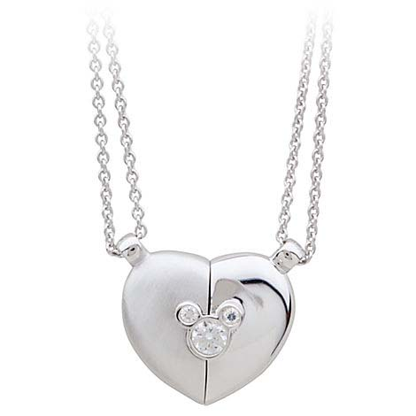 Your Wdw Store Disney Necklace Mickey Mouse Heart
