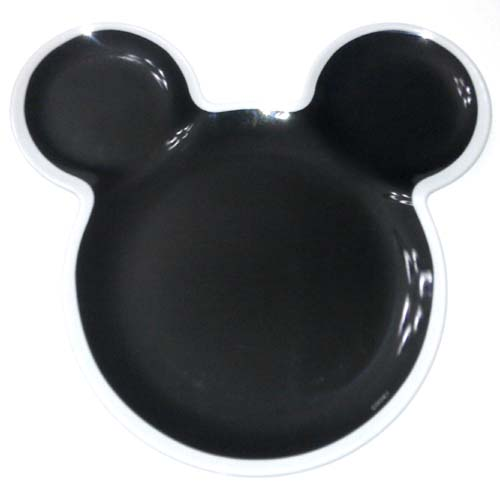 Disney Plastic Snack u0026 Food Plate - Mickey Mouse Ears Icon white outline  sc 1 st  Your WDW Store & Your WDW Store - Disney Plastic Snack u0026 Food Plate - Mickey Mouse ...