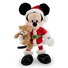 Disney Christmas Plush - Santa Mickey with Duffy the Disney Bear 18''