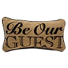 Disney Plush Pillow - Beauty and the Beast Pillow - Be Our Guest