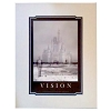 Disney Petite Poster - Quotations Series - Vision - Walt and Castle