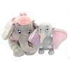 Disney Plush - Jumbo & Dumbo Elephant Plush Animal Set