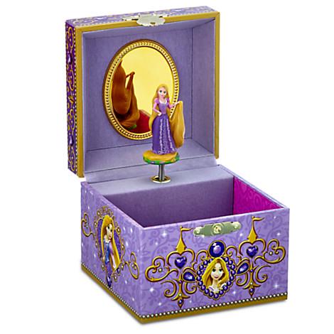 Your WDW Store Disney Trinket Box Rapunzel Musical Jewelry Box