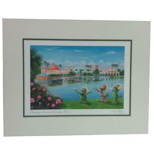 Disney Larry Dotson Print Disneys Coronado Springs Resort