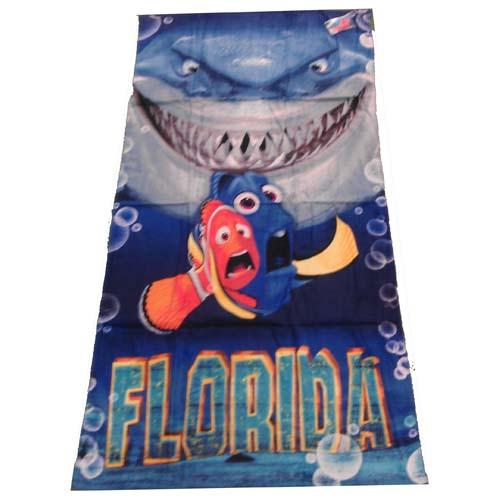 Finding Nemo Bath Towel Set: Dory, Marlin And Bruce