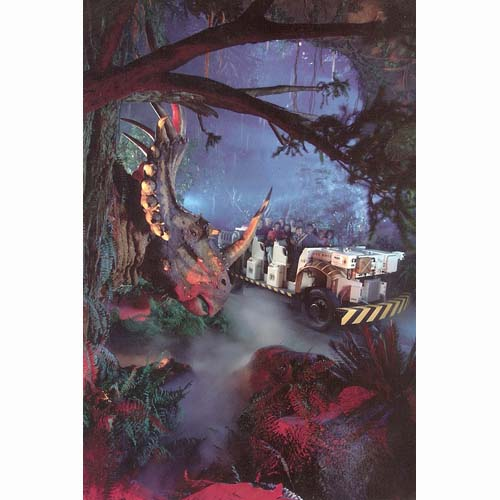 Disney Postcard Disney S Animal Kingdom Dinosaur Ride