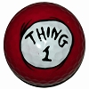 Universal Golf Ball - Dr. Seuss - Thing 1 1-pk.