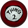 Universal Golf Ball - Dr. Seuss - Thing 2 1-pk