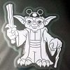 Disney Auto Window Decal - Star Wars Jedi Master Yoda