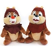 Disney Plush - Star Wars Weekends 2013 Logo Chip & Dale Ewoks