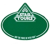 Disney Name Tag ID - Star Wars Weekends 2013 Star Tours Logo Green