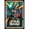 Disney Wall Poster - Star Wars Weekends 2013 Logo Skywalker Mickey