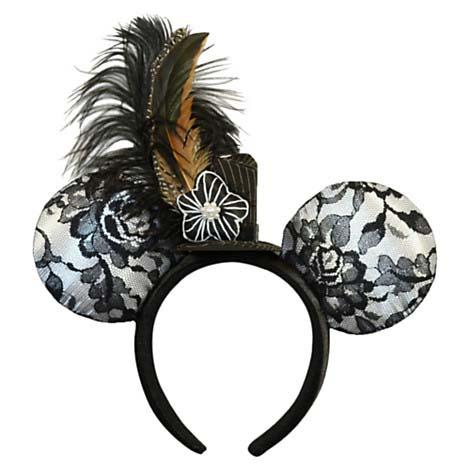 Disney Hat Ear Headband Limited Time Magic Tophat