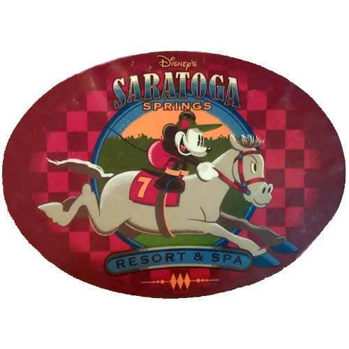 Disney Auto Magnet Saratoga Springs Resort And Spa