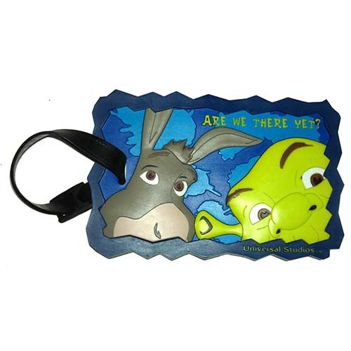 Universal Luggage Bag Tag - Shrek