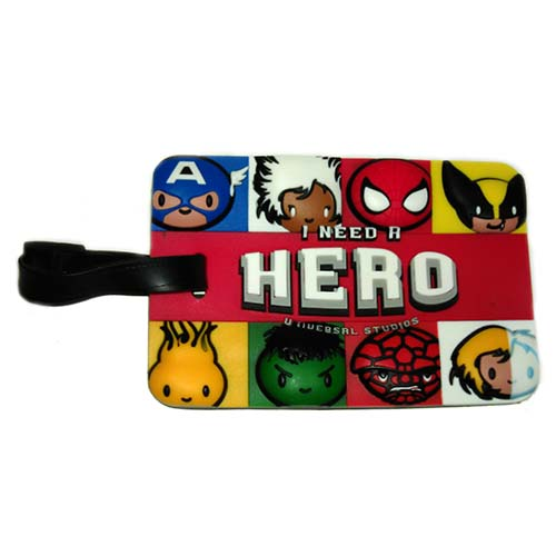 Universal Luggage Bag Tag - Marvel Cuties