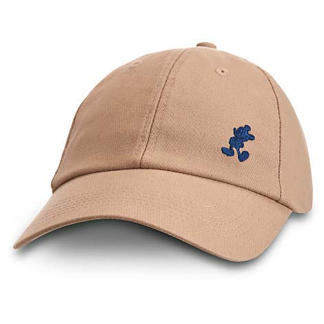 ... Baseball Cap - Tan with Small Navy Mickey Mouse. Tap to expand 709037a8439