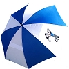 Disney Golf Umbrella - Haas-Jordan Mickey Mouse - Blue and White