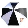 Disney Golf Umbrella - Haas-Jordan Grumpy Dwarf - Black and White