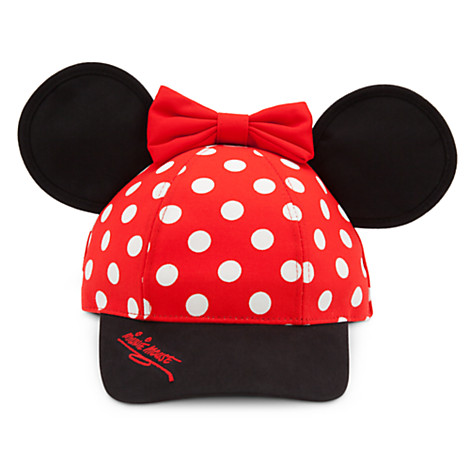 a21205be11360 Add to My Lists. Disney Hat - Baseball Cap for Girls - Minnie Mouse Ears