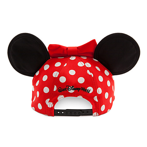 2066e3265f250 Disney Hat - Baseball Cap for Girls - Minnie Mouse Ears